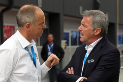 Jean Louis Dauger, Director Of Operations Eurosports Events and  Marcello Lotti, WTCC General Manager