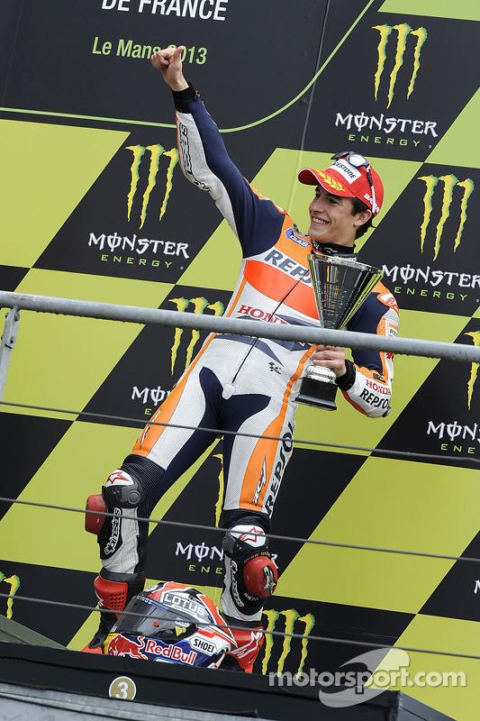 O terceiro colocado Marc Marquez, Repsol Honda Team