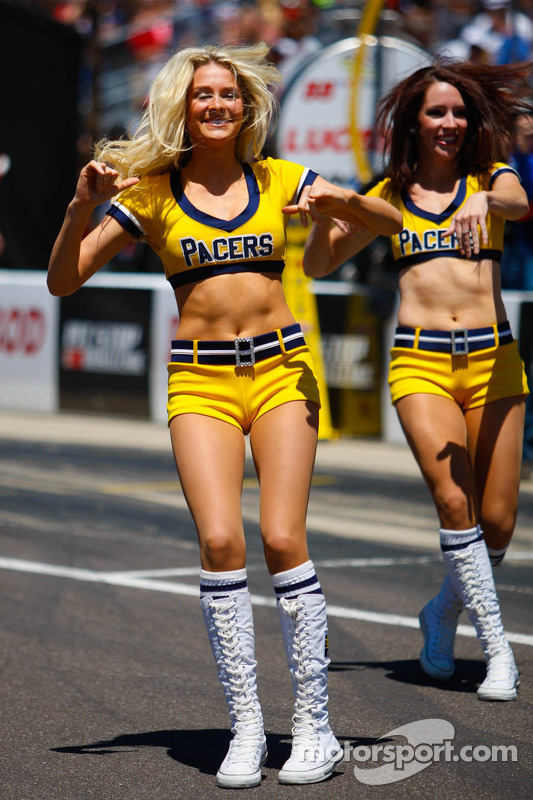 Indiana Pacers cheerlideraers