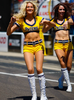 De Indiana Pacers cheerleaders