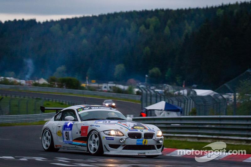 #91 BMW Z4 E86 (SP6): Dominique Nury, Philippe Burel, Eric van de Vyver, Guillaume van de Vyver