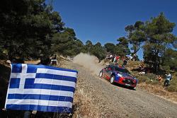 Robert Kubica en Maciek Baran, Citroën DS3 WRC