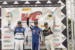 Podium: James Sofronas, Audi R8 Randy Pobst, Volvo S6 Johnny O'Connell, Cadillac CTS-V.R