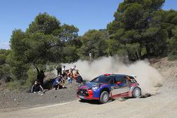 Robert Kubica and Maciek Baran, Citroën DS3 WRC