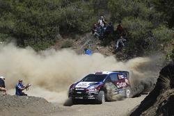 Evgeny Novikov en Ilka Minor, Ford Fiesta WRC, Qatar M-Sport WRT