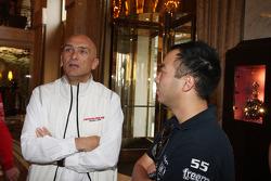 Coletiva, Gabriele Tarquini, Honda Civic, Honda Racing Team J.A.S.  e Darryl OYoung, BMW E90 320 TC, ROAL Motorsport