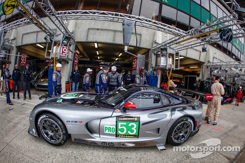 #53 SRT Motorsports Viper SRT GTS-R: Ryan Dalziel, Dominik Farnbacher, Marc Goossens, Jonathan Bomarito, Kuno Wittmer