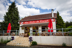 A famous restaurant next to the Le Mans circuit entrance
