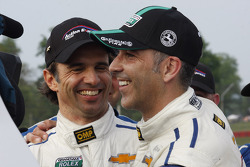 Winners Christian Fittipaldi, Joao Barbosa
