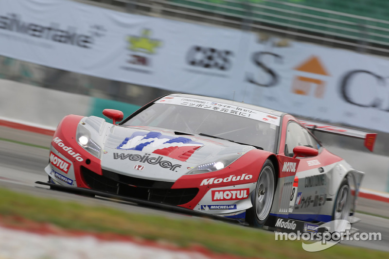 #18 Weider Modulo Dome Racing Honda HSV-010 GT: Naoki Yamamoto