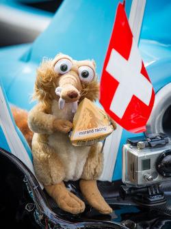 #43 Morand Racing Morgan LMP2 Judd mascot