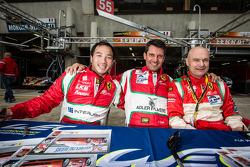 Darryl O'Young, Lorenzo Casé, Piergiuseppe Perazzini