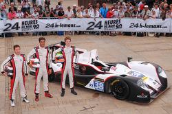 #38 Jota Sport Zytek Z11SN Nissan: Lucas Luhr, Simon Dolan, Oliver Turvey
