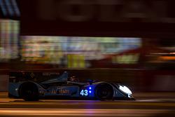 #43 Morand Racing Morgan LMP2 Judd: Natacha Gachnang, Franck Mailleux, Olivier Lombard