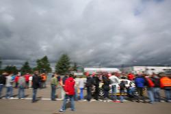 Michael Zehe, Roland Rehfeld, Marko Hartung, Rowe Racing