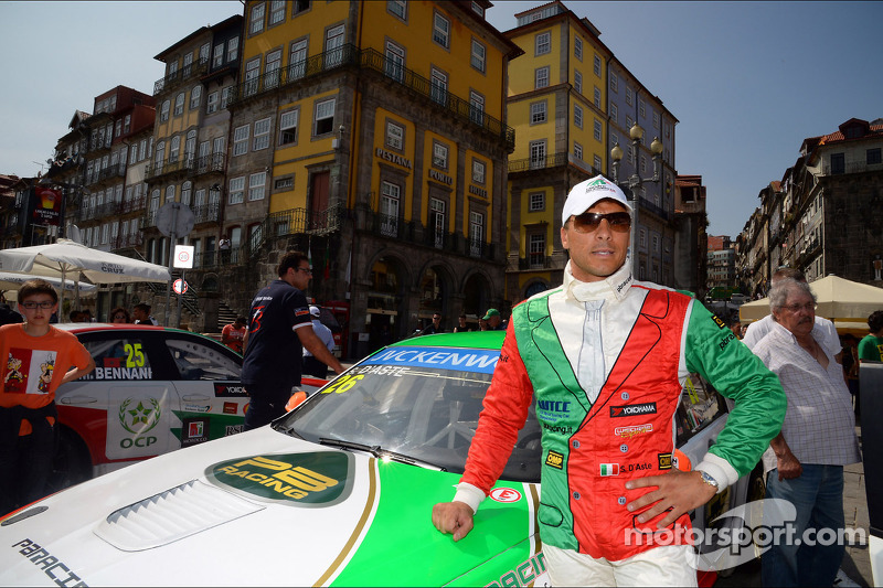 City parade, Stefano D'aste, BMW 320 TC, PB Racing