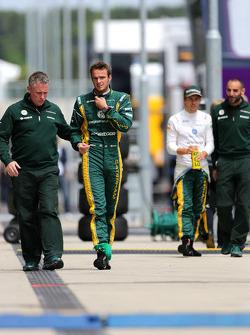 Giedo van der Garde, Caterham F1 Team and Charles Pic, Catheram Formula One Team