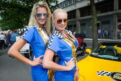 The Lotus Praga girls