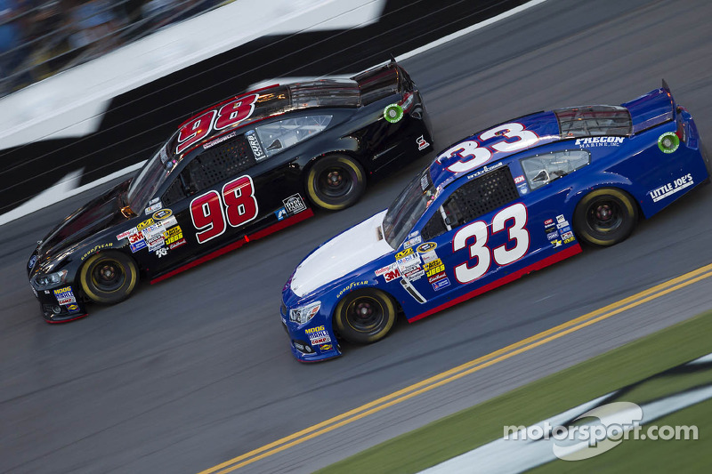 Michael McDowell and Landon Cassill