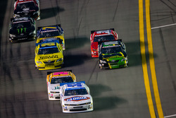 Kyle Larson leads the field