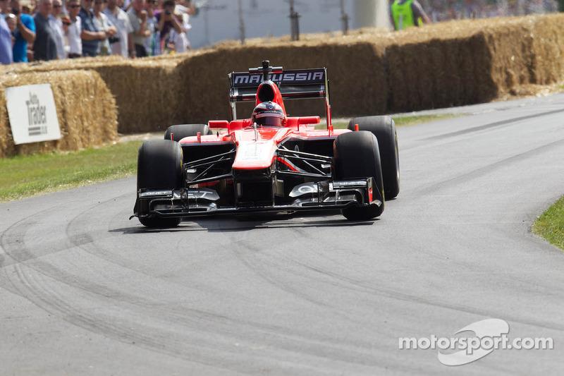 Armin Strom, Marussia-Cosworth MR-02