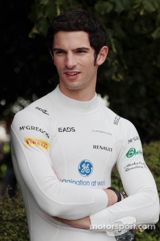 Alexander Rossi, Caterham F1, piloto reserva
