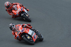 Andrea Dovizioso, Ducati Team and Nicky Hayden, Ducati Team