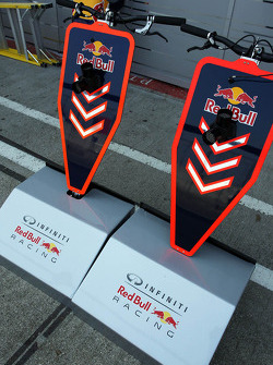 Red Bull Racing pit stop equipment