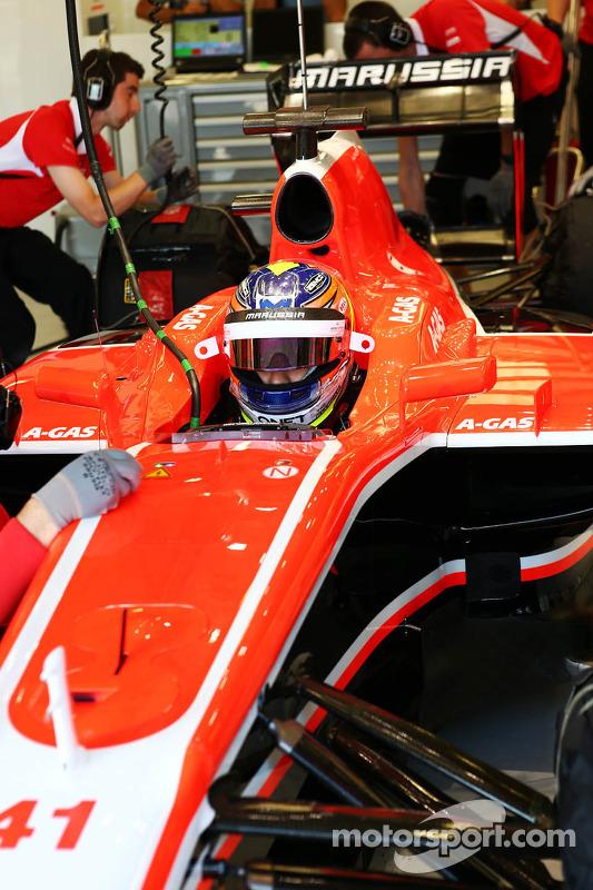 Tio Ellinas, Marussia F1 Team MR02 piloto de testes