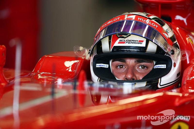 Davide Rigon, Ferrari F138 Test Driver