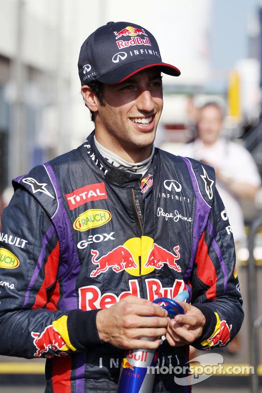 Daniel Ricciardo, piloto de testes da Red Bull Racing