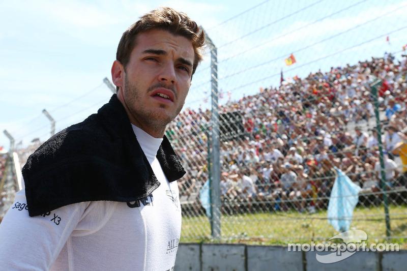 Jules Bianchi, Marussia F1 Team en la parrilla