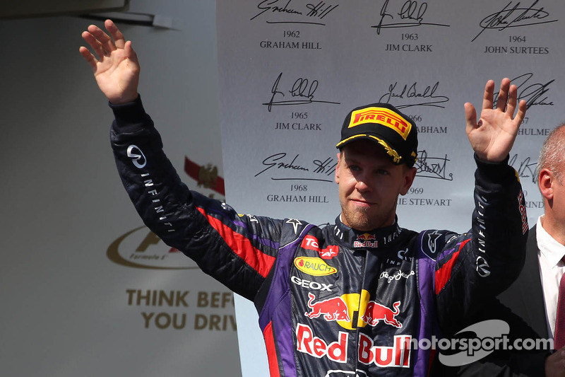 3e plaats Sebastian Vettel, Red Bull Racing