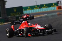 Jules Bianchi, Marussia F1 Team MR02  y Max Chilton, Marussia F1 Team MR02