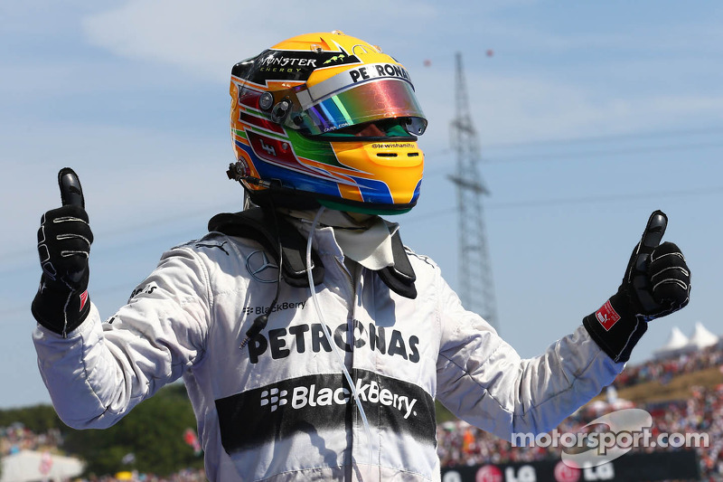 1e plaats Lewis Hamilton, Mercedes AMG F1