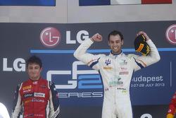 Race winner Nathanael Berthon