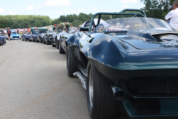 Corvette's 60th anniversary was celebrated.