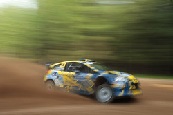 Per-Gunnar Andersson and Anders Fredriksson, Ford Fiesta WRC