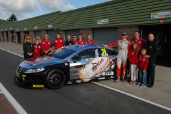 Warren Scott with Team BMR Restart Racing