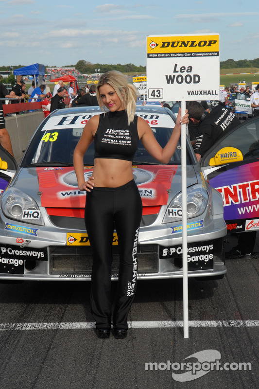 Grid Girl de Lea Wood