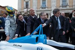 Presentazione dell' ePrix di Formula E di Roma