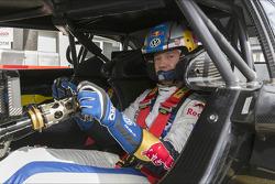Sébastien Ogier dans l'Audi DTM