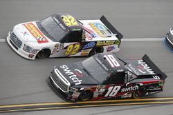 Noah Gragson, Kyle Busch Motorsports Toyota Regan Smith, Ricky Benton Racing Ford
