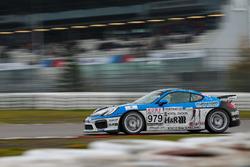 Hamza Owega, Alex Schula, Moritz Kranz, Porsche Cayman GT4 Clubsport
