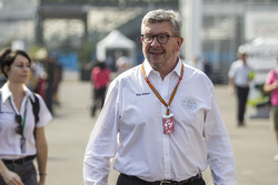 Ross Brawn, manager sportif de la F1, FOM