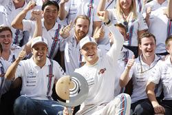 Le troisième Valtteri Bottas, Williams et le quatrième Felipe Massa, Williams