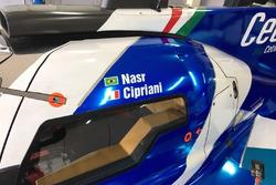 Dettaglio della Dallara P217 Gibson, Villorba Corse