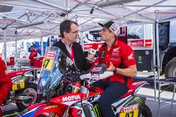 #47 Monster Energy Honda Team: Кевін Бенавідес