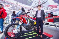 Apresentação Monster Energy Honda Team