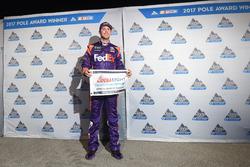 Il poleman Denny Hamlin, Joe Gibbs Racing Toyota